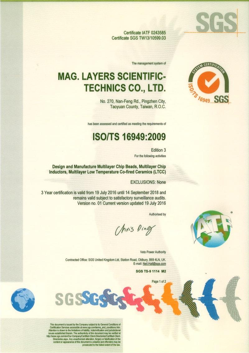 Mag Layers Usa Inc